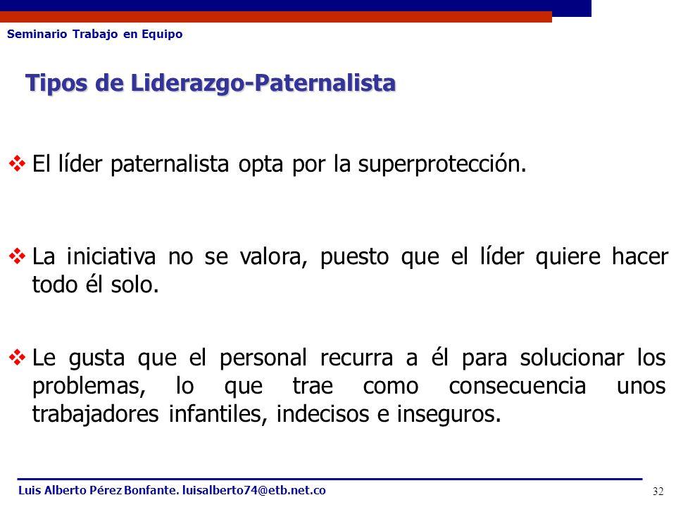 Tipos de Liderazgo-Paternalista