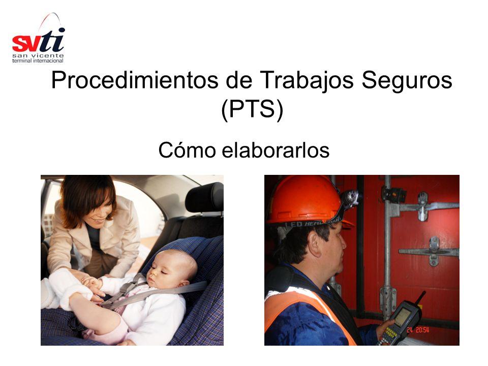 Procedimientos de Trabajos Seguros (PTS)