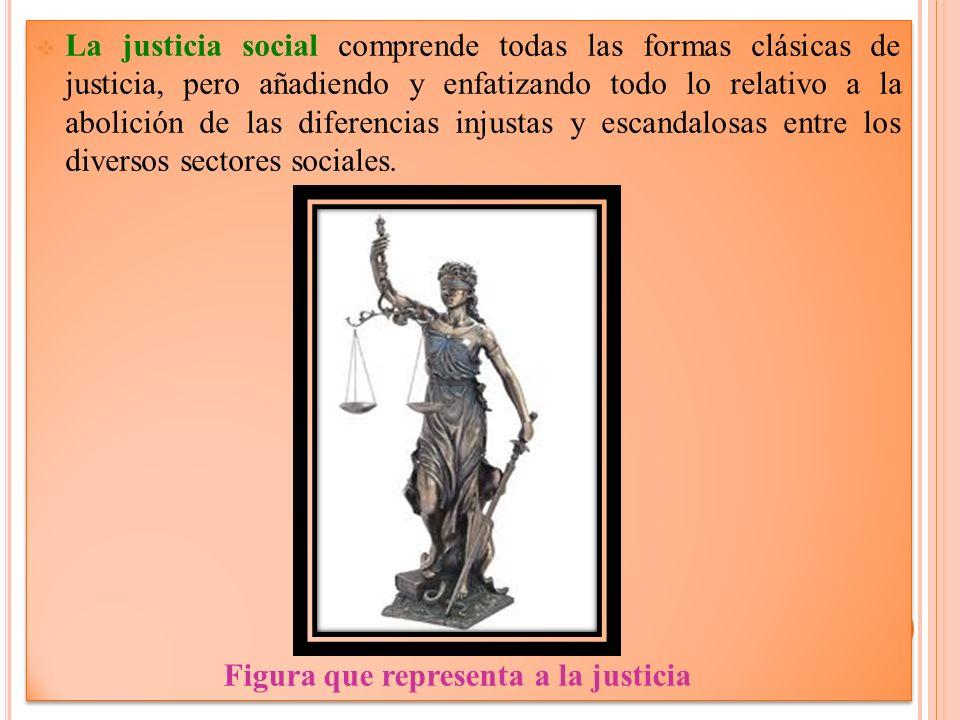 Figura que representa a la justicia