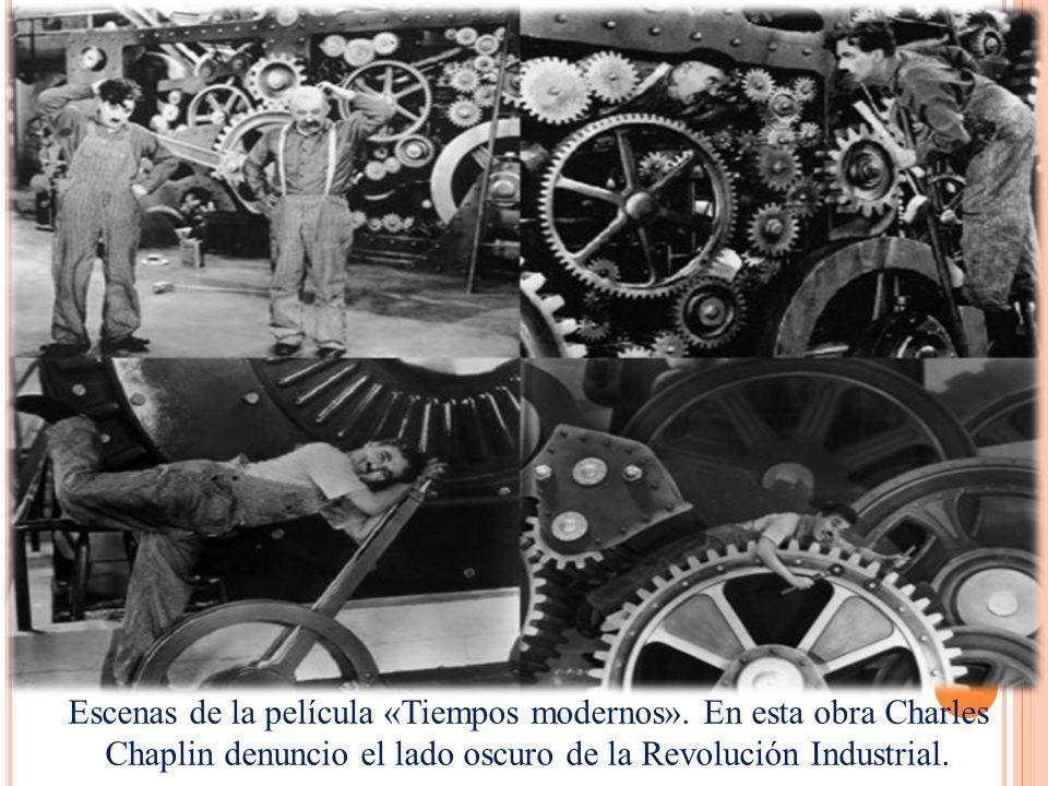 Escenas de la película «Tiempos modernos»