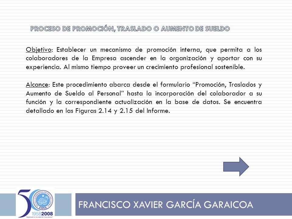 FRANCISCO XAVIER GARCÍA GARAICOA