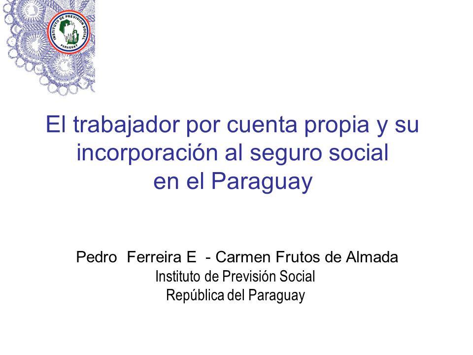 El trabajador por cuenta propia y su incorporación al seguro social