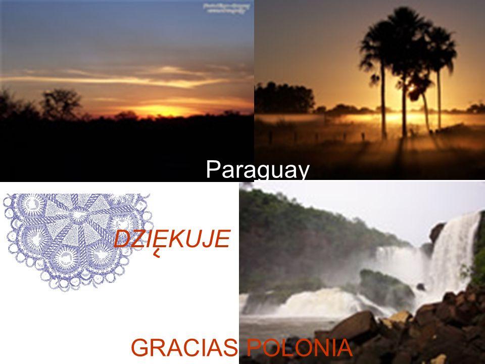 Paraguay DZIEKUJE GRACIAS POLONIA