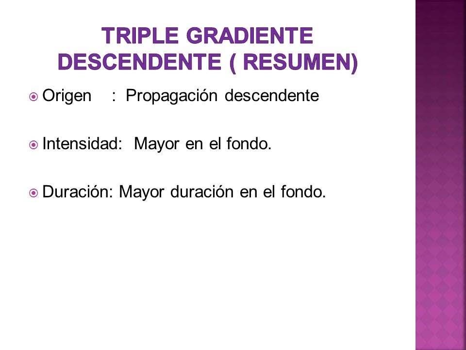 Triple gradiente descendente ( resumen)