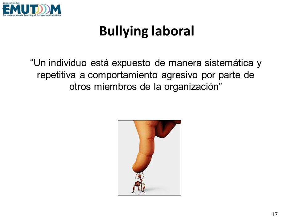 Bullying laboral