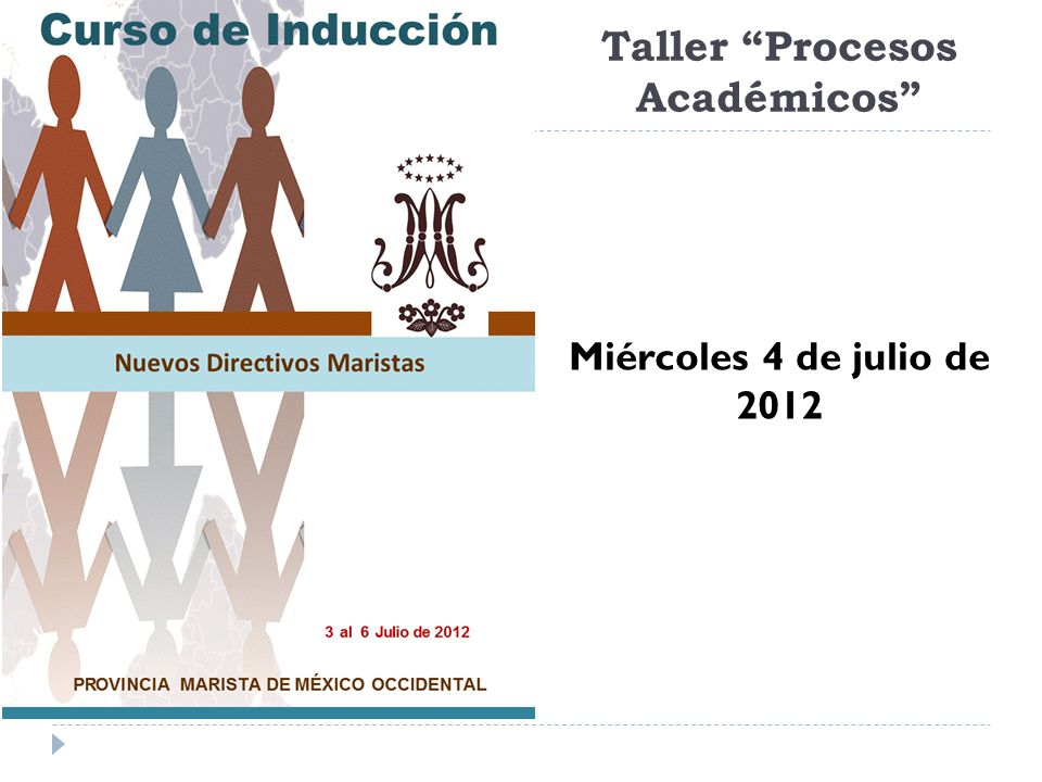 Taller Procesos Académicos