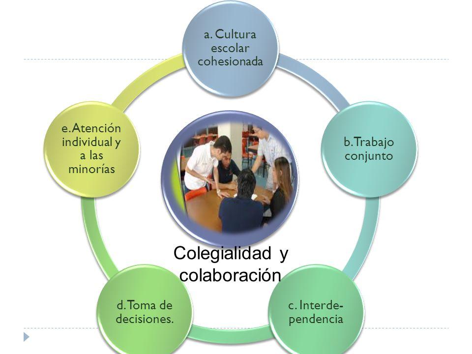 Colegialidad y colaboración