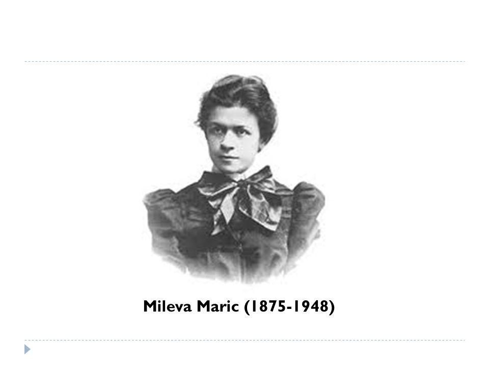 Mileva Maric (1875-1948)