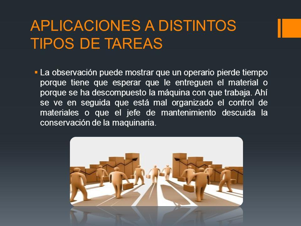 APLICACIONES A DISTINTOS TIPOS DE TAREAS