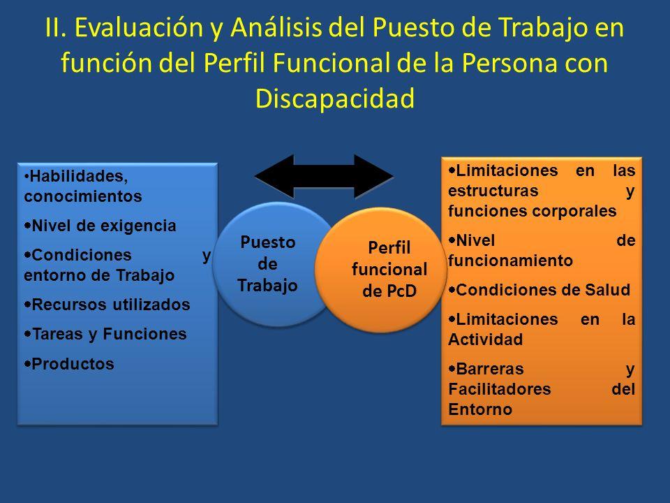 Perfil funcional de PcD
