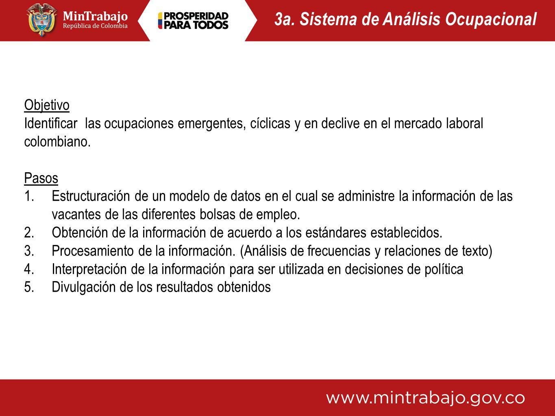 3a. Sistema de Análisis Ocupacional