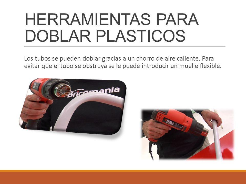 HERRAMIENTAS PARA DOBLAR PLASTICOS