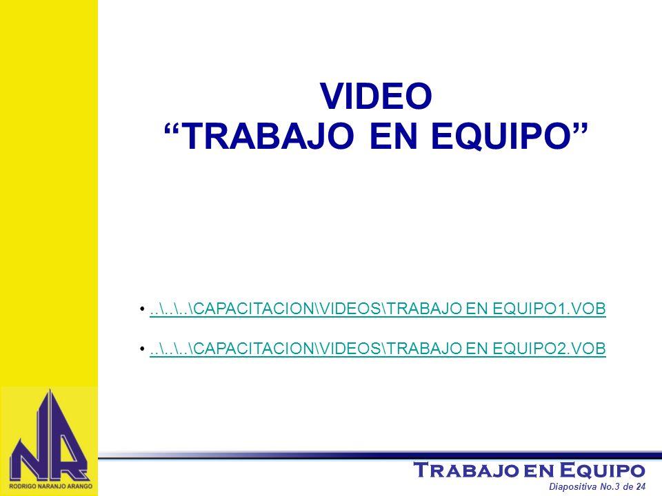 VIDEO TRABAJO EN EQUIPO