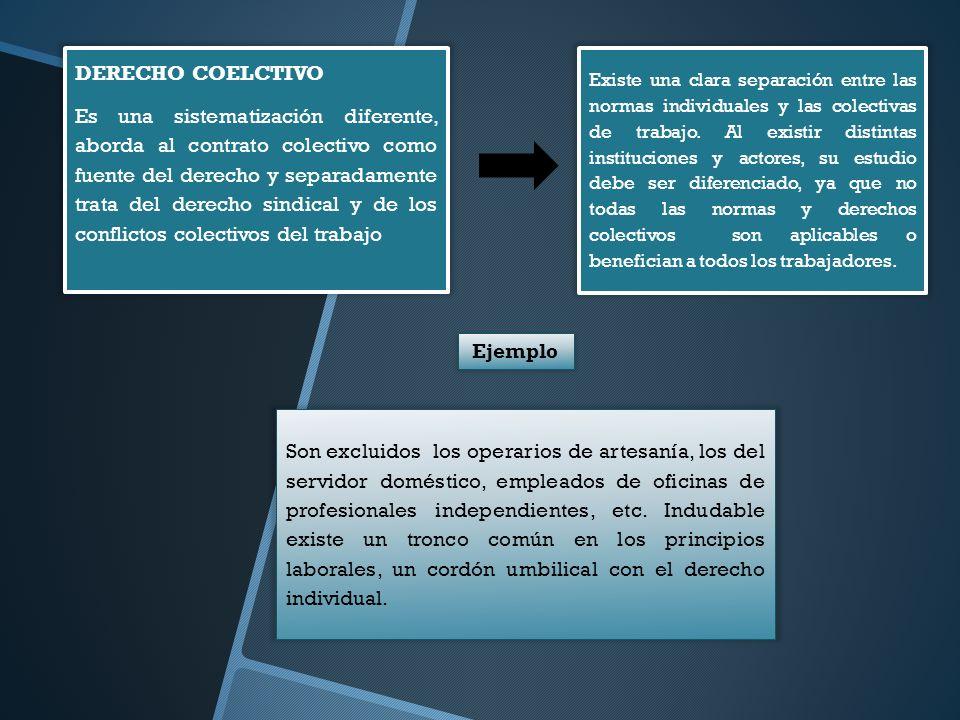 DERECHO COELCTIVO