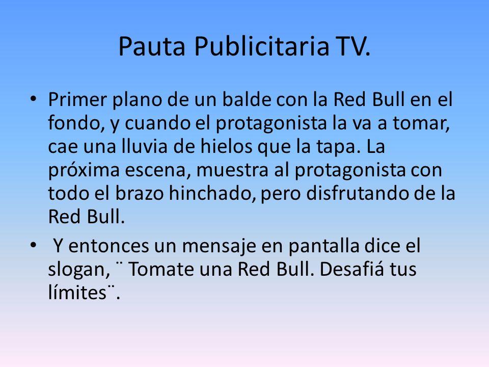 Pauta Publicitaria TV.
