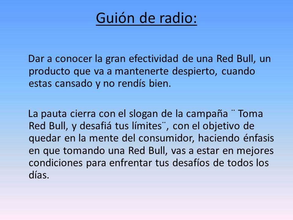 Guión de radio: