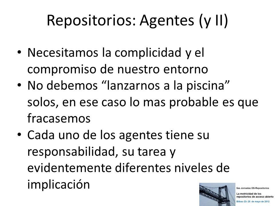 Repositorios: Agentes (y II)