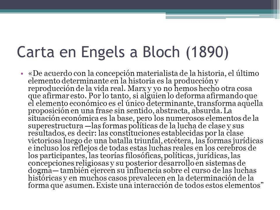 Carta en Engels a Bloch (1890)