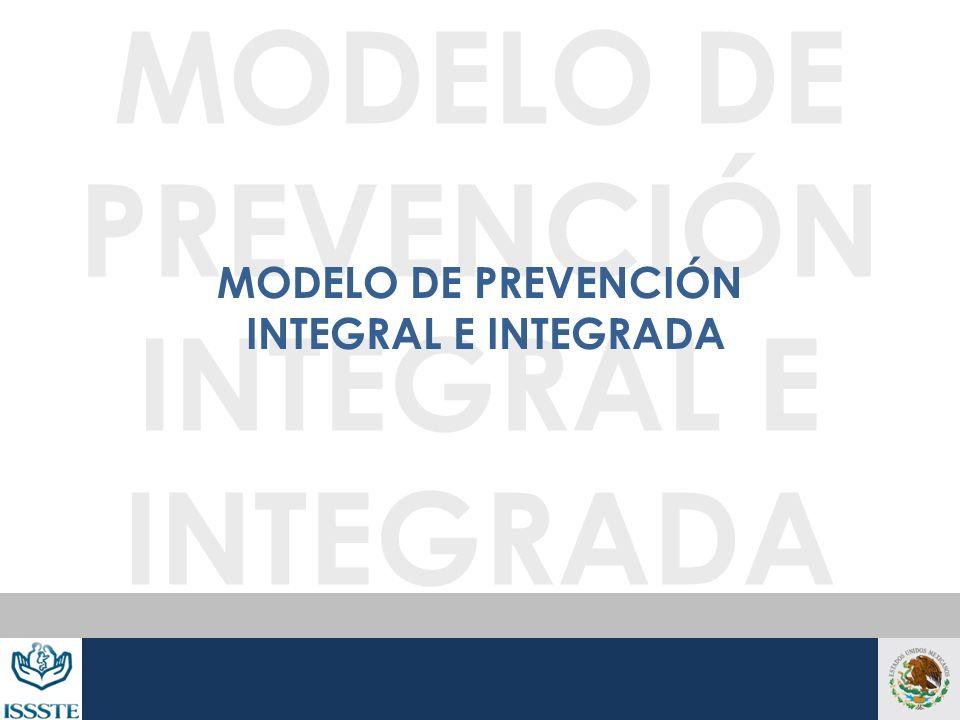 MODELO DE PREVENCIÓN INTEGRAL E INTEGRADA