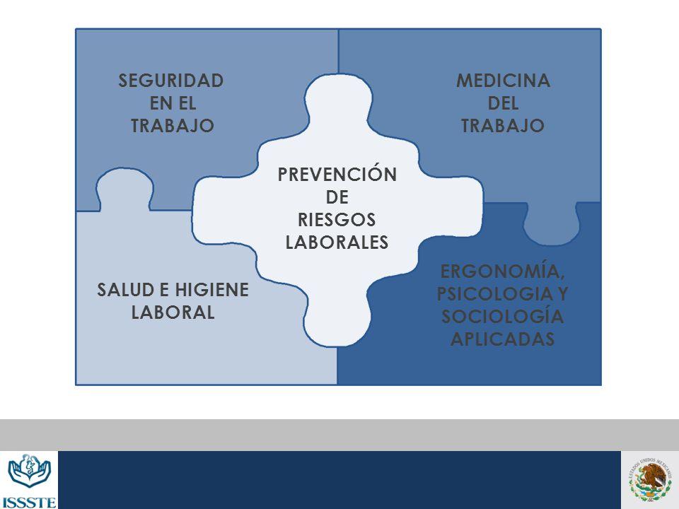 SEGURIDADEN EL. TRABAJO. MEDICINA. DEL. TRABAJO. PREVENCIÓN. DE. RIESGOS. LABORALES. ERGONOMÍA, PSICOLOGIA Y.