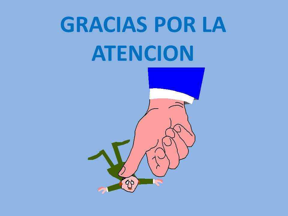 GRACIAS POR LA ATENCION