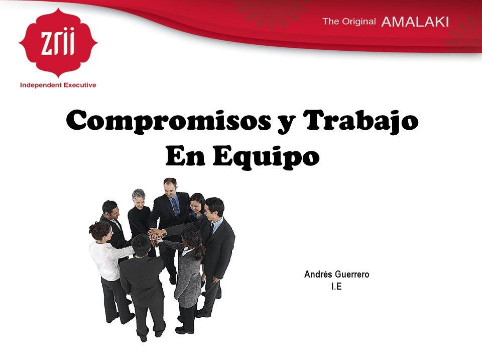 Compromisos y Trabajo En Equipo