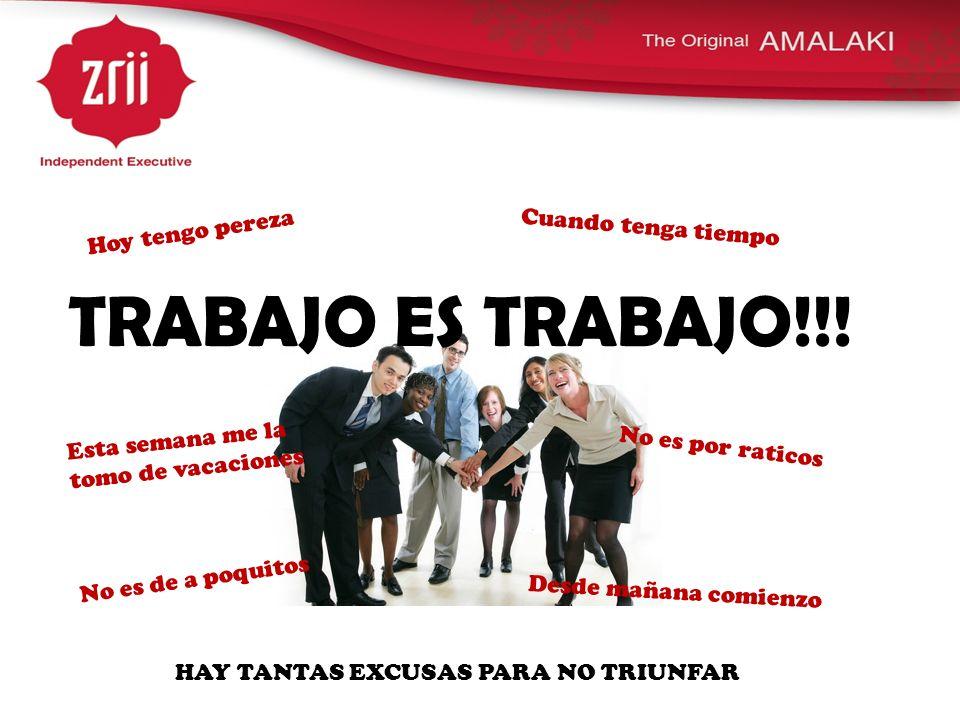 HAY TANTAS EXCUSAS PARA NO TRIUNFAR