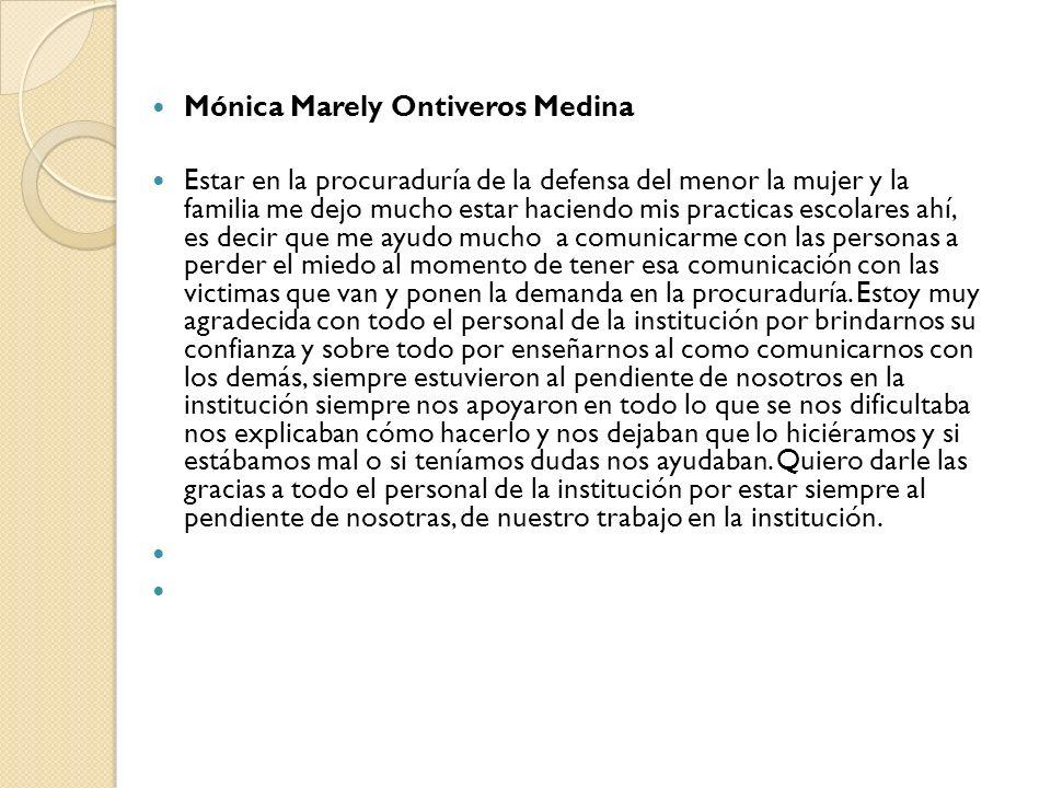 Mónica Marely Ontiveros Medina