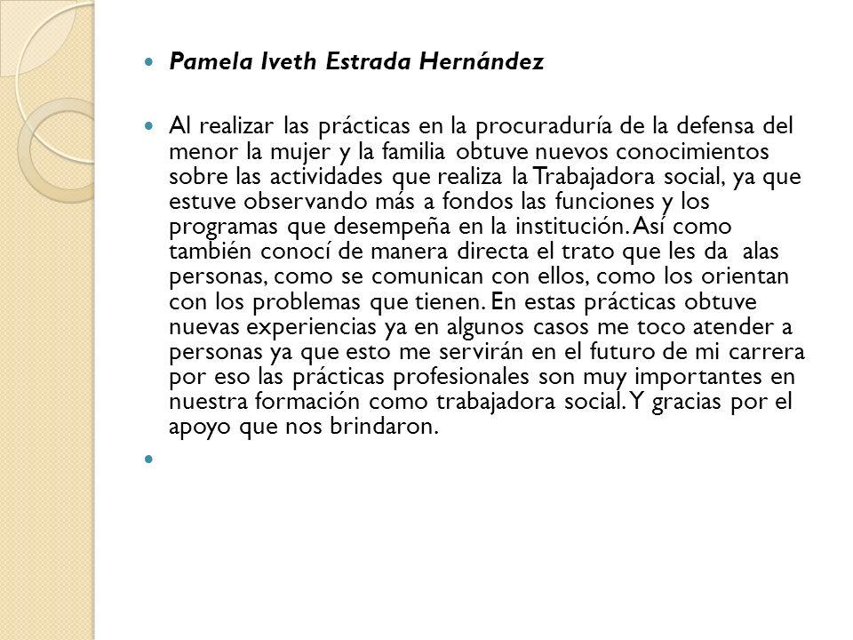 Pamela Iveth Estrada Hernández