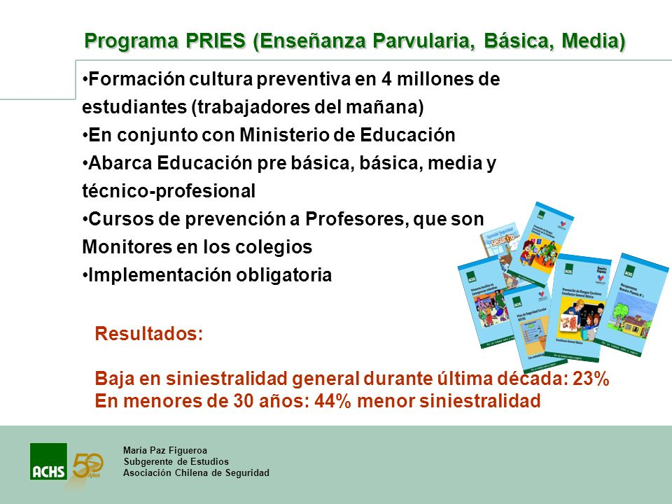 Programa PRIES (Enseñanza Parvularia, Básica, Media)