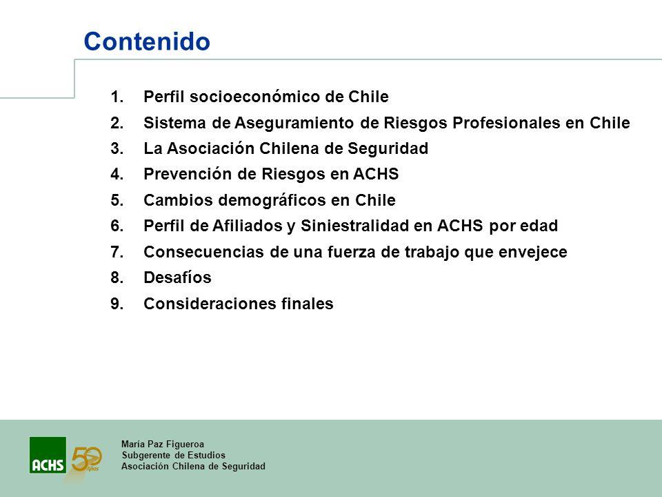Contenido Perfil socioeconómico de Chile