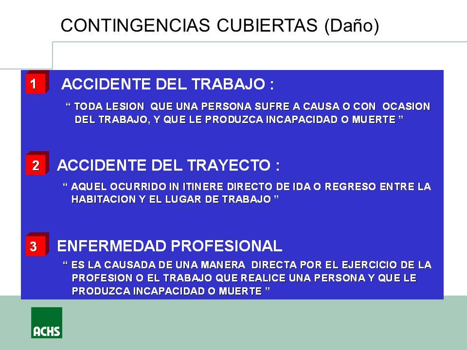 CONTINGENCIAS CUBIERTAS (Daño)