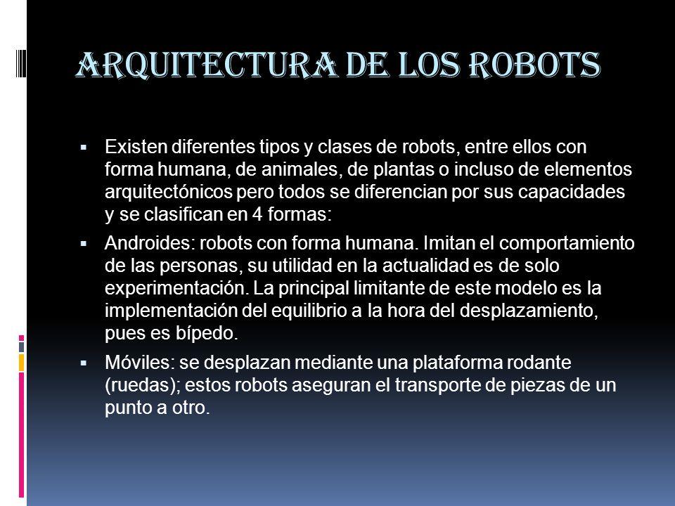 Arquitectura de los robots