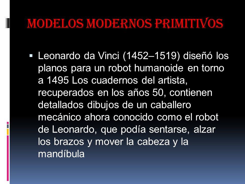 Modelos modernos primitivos