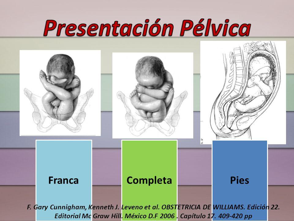 Presentación Pélvica Franca Completa Pies