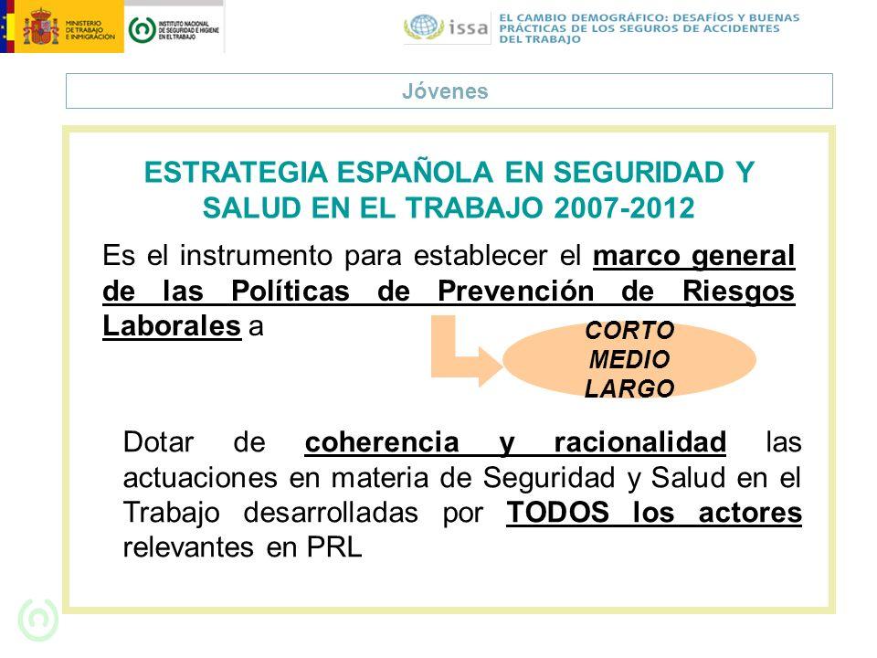 ESTRATEGIA ESPAÑOLA EN SEGURIDAD Y SALUD EN EL TRABAJO 2007-2012