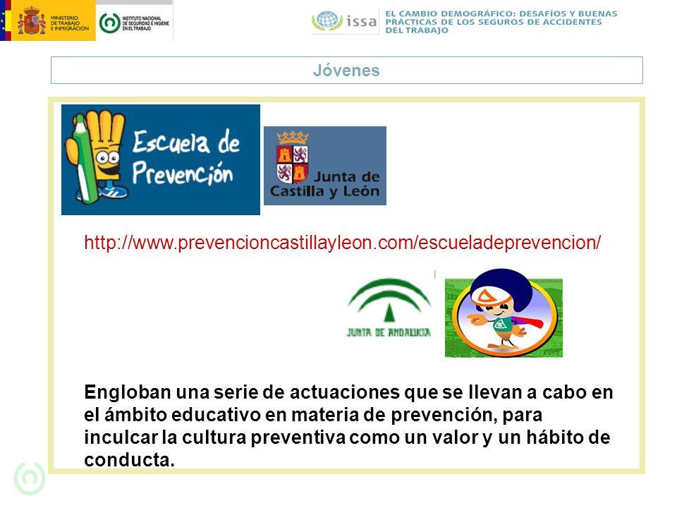 Jóvenes http://www.prevencioncastillayleon.com/escueladeprevencion/