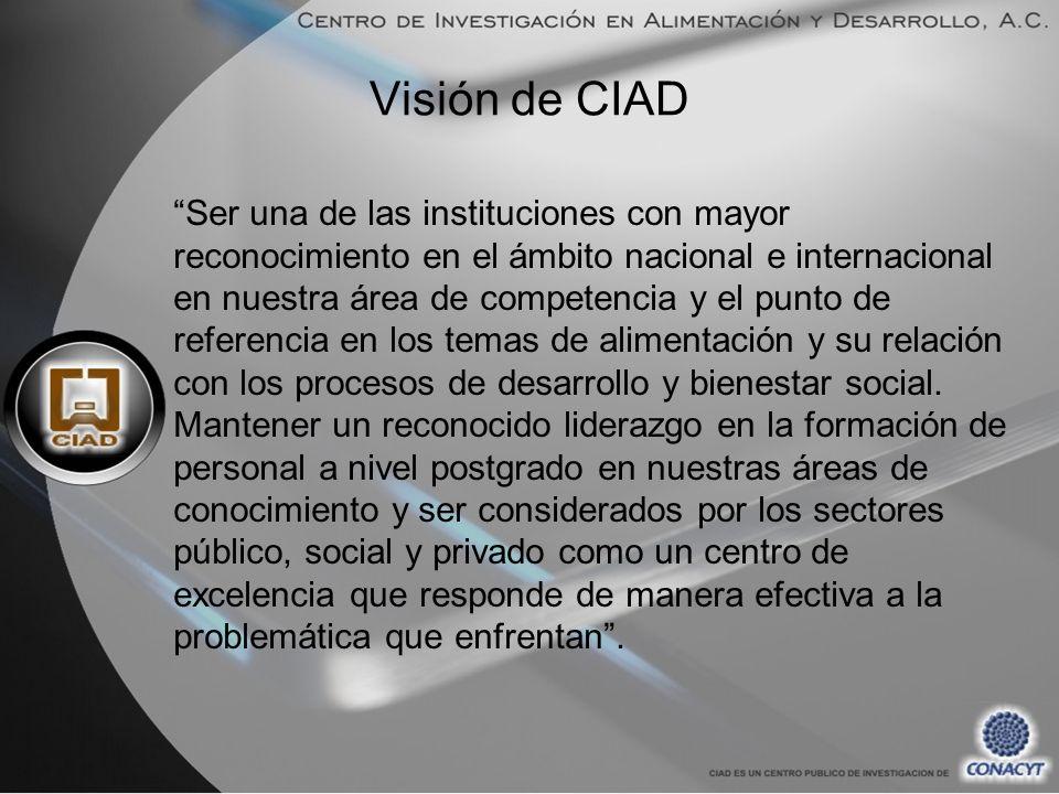 Visión de CIAD