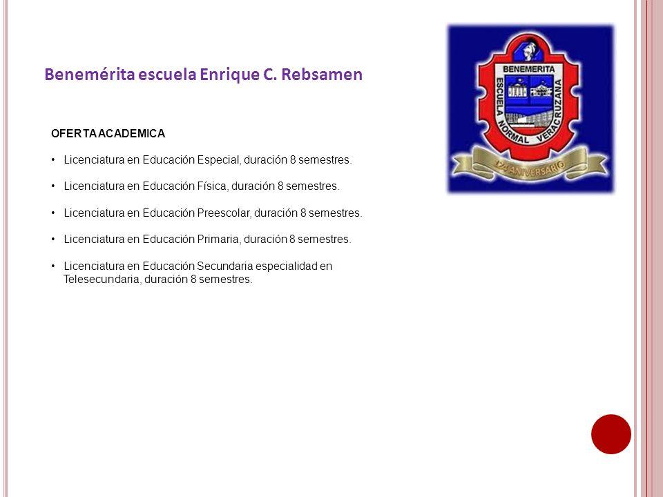 Benemérita escuela Enrique C. Rebsamen