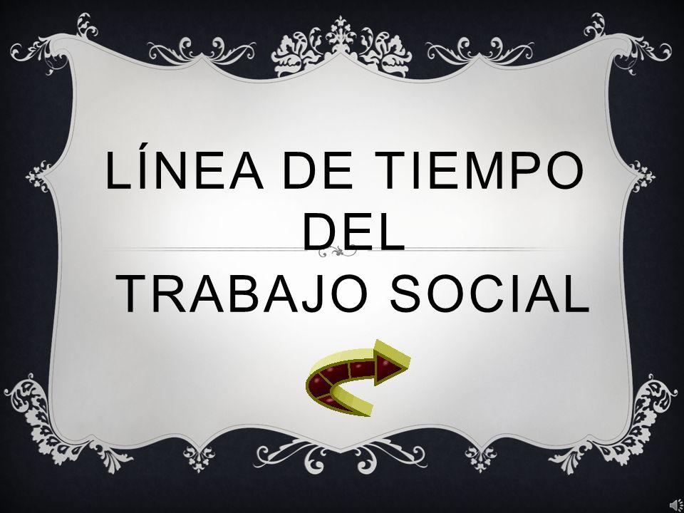 Línea de tiempo del trabajo social
