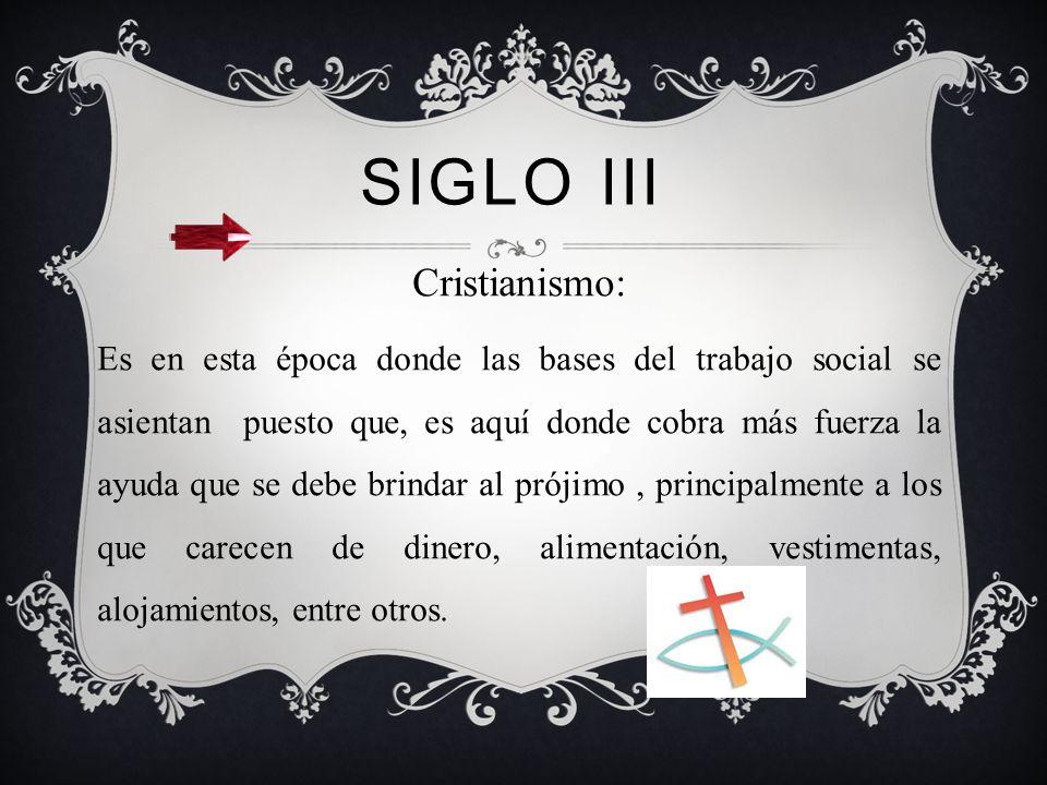 Siglo III Cristianismo: