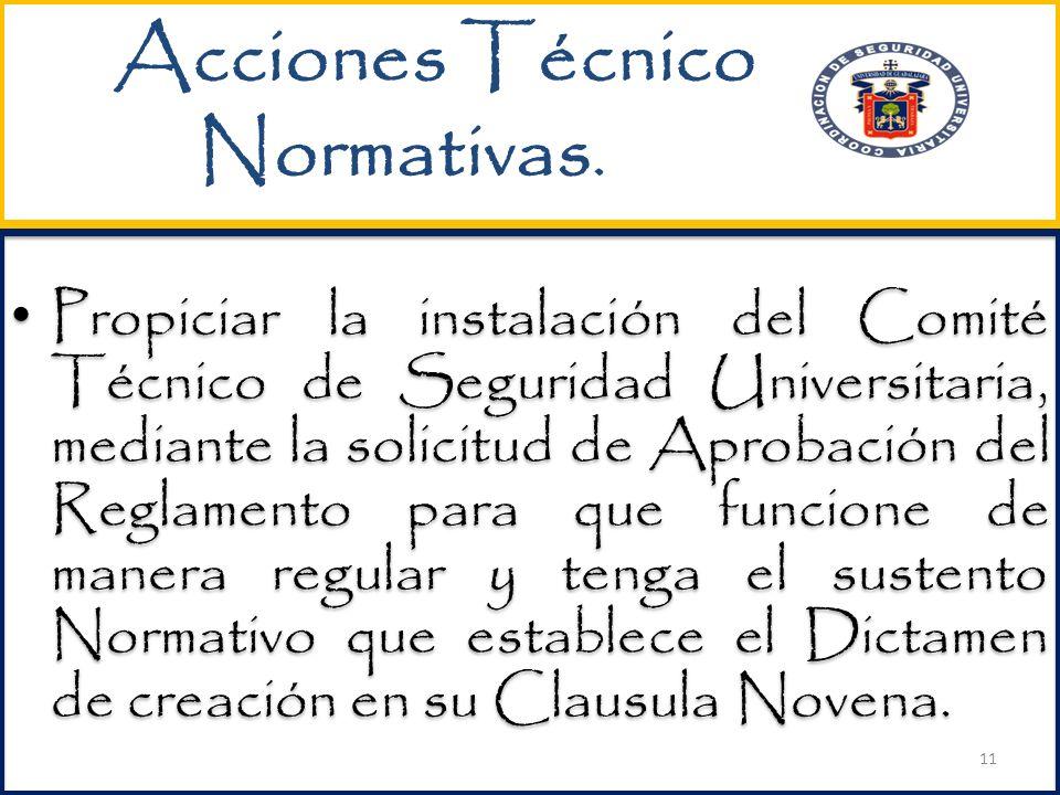 Acciones Técnico Normativas.