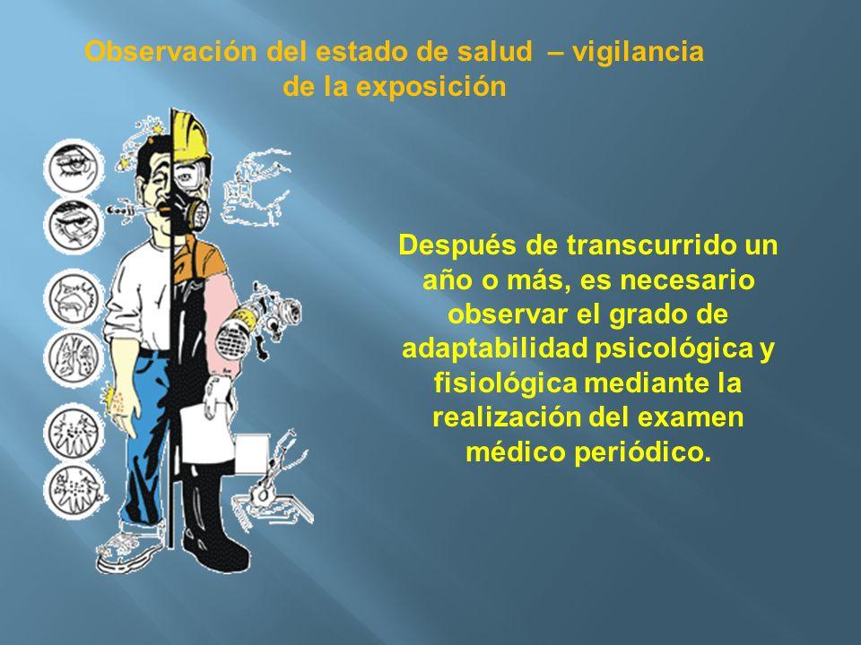 Observación del estado de salud – vigilancia