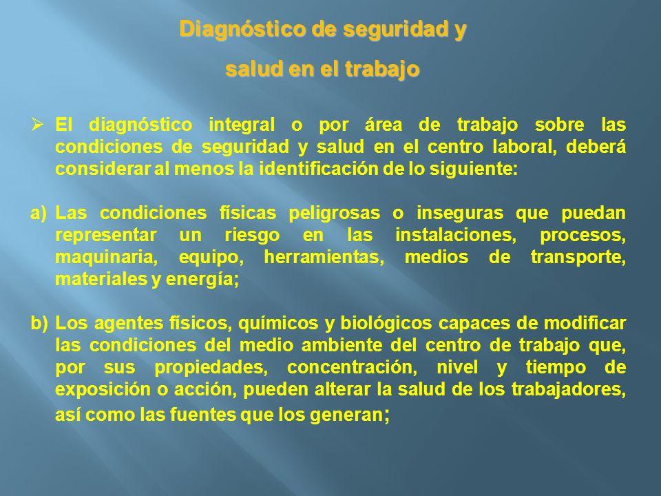 Diagnóstico de seguridad y