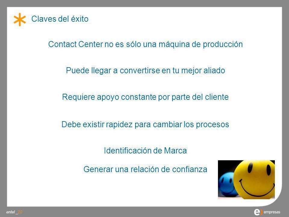 Contact Center no es sólo una máquina de producción