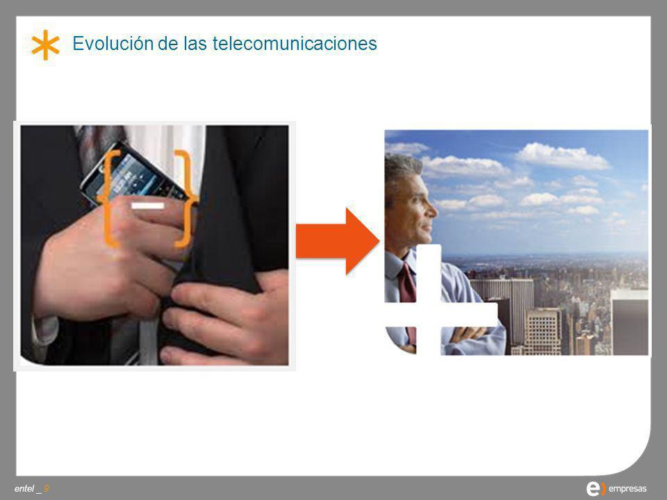 Evolución de las telecomunicaciones