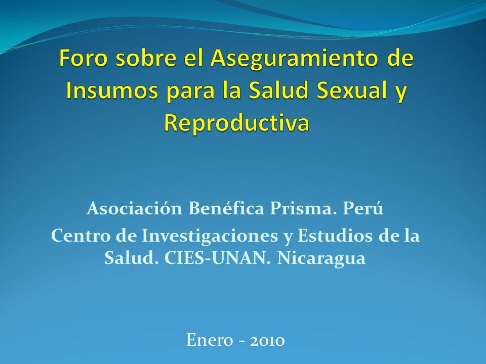 Centro de Investigaciones y Estudios de la Salud. CIES-UNAN. Nicaragua