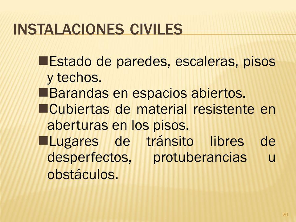 INSTALACIONES CIVILES