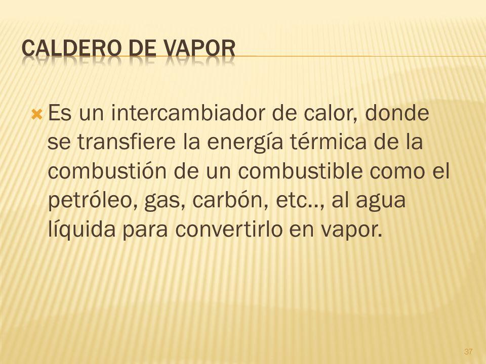 CALDERO DE VAPOR