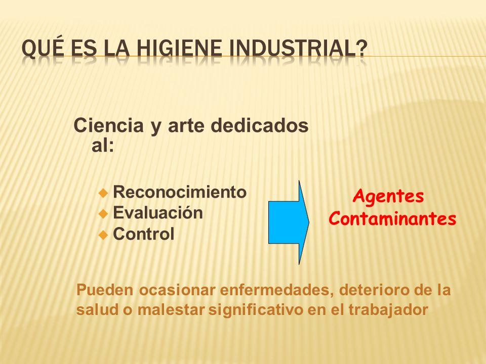Qué es la Higiene Industrial